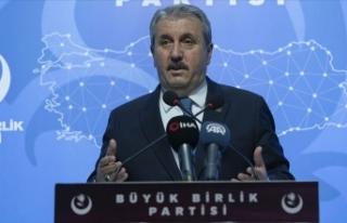BBP Genel Başkanı Destici: Pençe operasyonları...