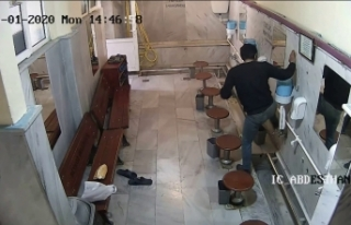 Beykoz'da pes dedirten hırsızlık: Caminin musluklarını...