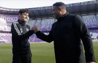 Brezilyalı efsane Ronaldo Enes Ünal'ın Valladolid'deki...