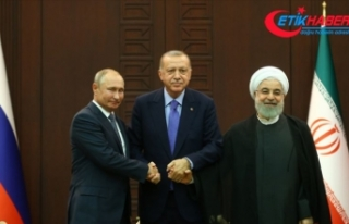 Cumhurbaşkanı Erdoğan, Putin ve Ruhani yarın Suriye'yi...