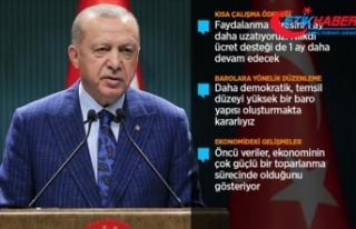 Cumhurbaşkanı Erdoğan: Ülkemizi risk grubundan...