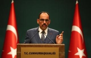 Cumhurbaşkanlığı Sözcüsü Kalın'dan Volkan...