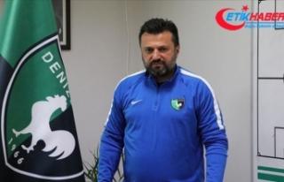 Denizlispor Teknik Direktörü Bülent Uygun'dan...