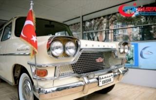 Devrim Otomobili Müzesi 1 Temmuz'da ziyaretçilere...