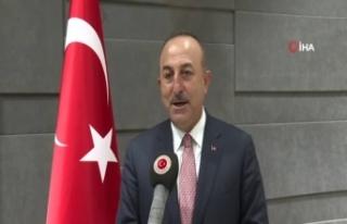 Dışişleri Bakanı Çavuşoğlu, Libya dönüşü...