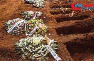 Dünya genelinde Kovid-19 salgını nedeniyle ölenlerin...