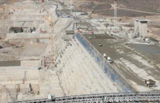 Etiyopya, Hedasi Barajı'nın yüzde 74'ünü...