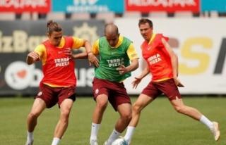 Galatasaray, Çaykur Rizespor hazırlıklarına devam...