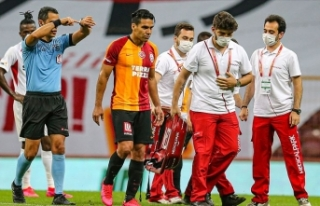 Galatasaraylı futbolcu Falcao'nun adalesinde...