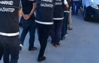 Gaziantep'te suç örgütü ve uyuşturucu operasyonu:...
