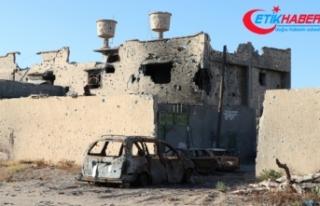Hafter milisleri Libya'nın başkenti Trablus'tan...