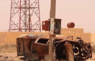 Hafter milisleri Sirte Körfezi'ndeki elektrik...