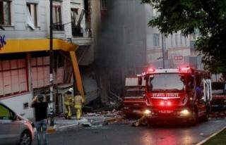 İstanbul'da bir binada patlama meydana geldi
