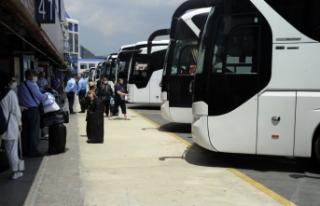 İstanbul'da otobüs bileti fiyatları yüzde 40...