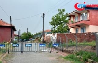 Kırıkkale'de 22 kişinin yaşadığı 2 ev...
