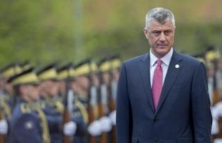 """Kosova Cumhurbaşkanı Thaçi: """"Savaş suçu işlediğim..."""