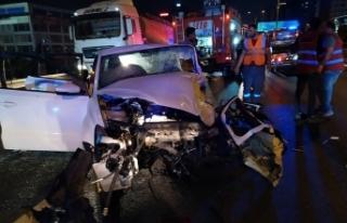 Küçükçemece Basın Ekspres'te feci kaza: 1 ölü,...