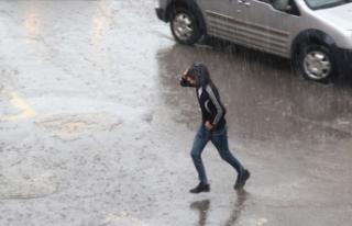 Kuvvetli yağışlar etkisini sürdürecek