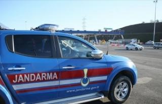 Kuzey Marmara Otoyolu trafiğinde sorumluluk jandarmada