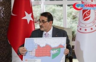 Libya'daki petrol arama çalışmaları için...