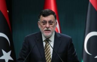 Libya Başbakanı Serrac: Türkiye'ye minnet...