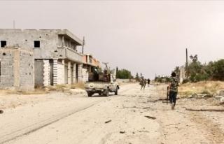 Libya ordusu Trablus Havalimanı'nı kurtarma...