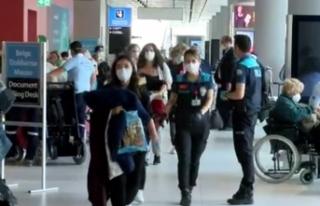Los Angeles'ta bulunan 332 Türk vatandaşı tahliye...