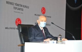 MHP Lideri Bahçeli: Bizim için istikbal, ikbale...