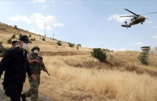 Milli Savunma Bakanı Akar, Pençe-Kaplan Operasyonu'nun...