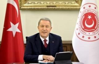 Milli Savunma Bakanı Akar'dan Fransız iddialarına...