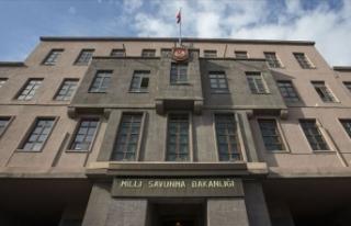 MSB: Barış Pınarı bölgesinde PKK/YPG'nin...