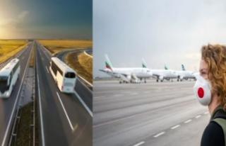 Normalleşme süreci otobüs ve uçak bileti satışlarını...