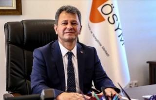 ÖSYM Başkanı Aygün: YKS adaylarına maske ve dezenfektan...