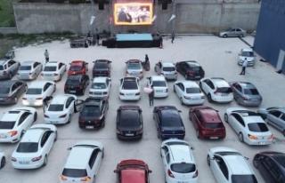 'Park Et Seyret' etkinlikleri sinema, konser...