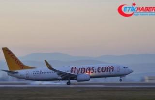 Pegasus Hava Yolları hafta sonu uçuşlarının planlanan...