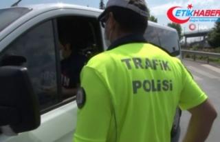 Polisten, LGS günü sokağa çıkma kısıtlaması...