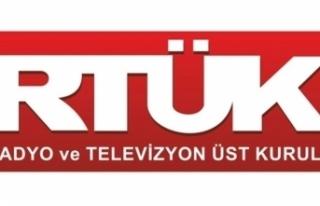 RTÜK'ten yayıncılara uyarı