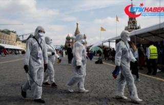 Rusya'da Kovid-19 vaka sayısı yarım milyonu...