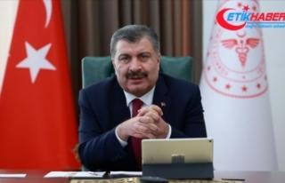 Sağlık Bakanı Koca: Salgını, maske ve sosyal...