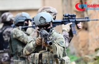 Siirt'te PKK'lı teröristlerin şehit ettiği...