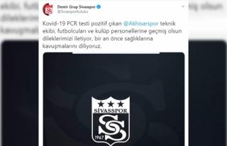 Sivasspor'dan Akhisarspor'a geçmiş olsun mesajı