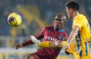 Trabzonspor ile MKE Ankaragücü 72. randevuda