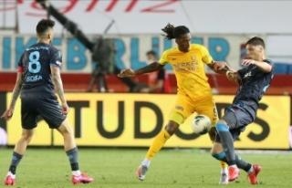 Trabzonspor zirve yolunda puan kaybetti