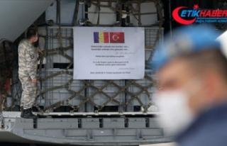 Türkiye ikinci kez Çad'a tıbbi yardım malzemesi...