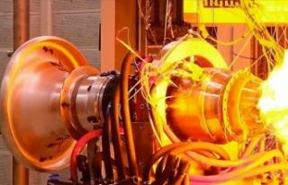 Türkiye'nin orta menzilli ilk yerli füze motoru...