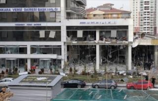 Vergi dairesine bombalı terör saldırısı davasının...