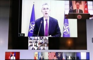 Video konferansla gerçekleşen NATO Savunma Bakanları...