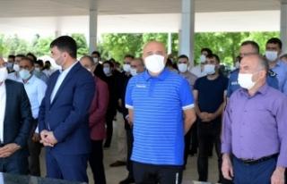 Yeni Malatyaspor Kulübü Başkanı Adil Gevrek'in...