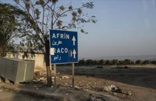 YPG/PKK'lı teröristlerin Afrin'e sızma...