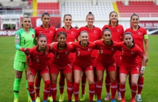 A Milli Kadın Futbol Takımı'nın hazırlık kampı...